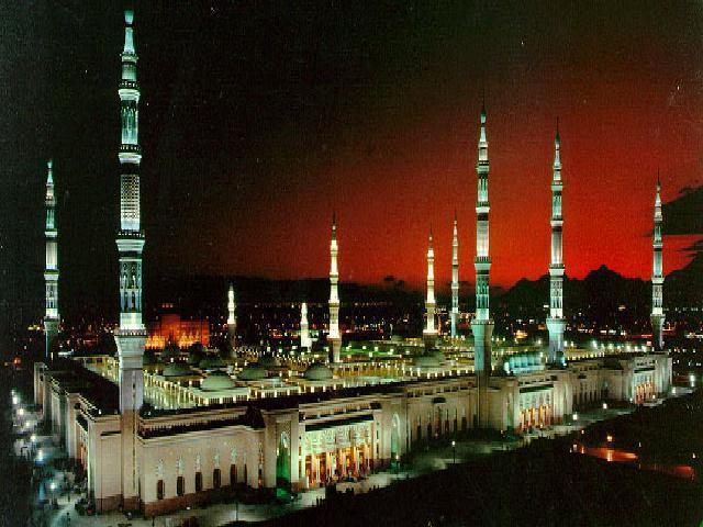 صور المسجد النبوى - صور مسجد المدينة المنورة - صور المسجد النبوى من الداخل